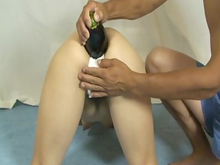 Elmer Wife Foot-ANAL Insertion!