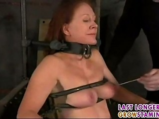 Mature redhead forced part3