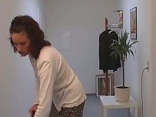 Nasty milf fucks in the bathroom