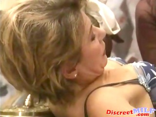 Spanish dude fuck mature ladies and pee on them