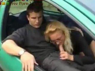 Driving School - French MILF