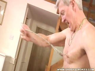 Rough Daddy Jerk Off