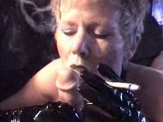 Smoking BJ hot mature