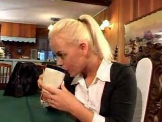Nina Hartley Beaver Lovin MILF Trains Babe
