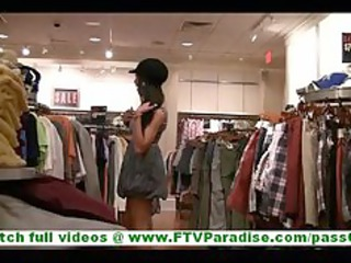 Felicia hot latina milf with no panties flashing