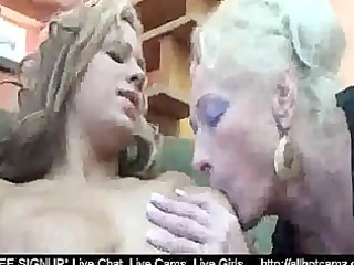 Hot girl fuck two mature lesbians at once webcam
