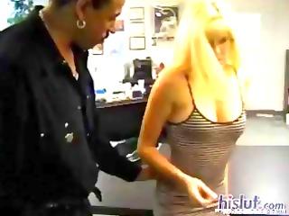 Blonde MILF Nico Treasures likes her pussy licked
