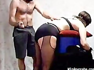 Spanking my Sub Wife before fucking her ass