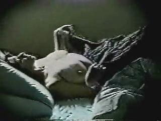 Mom go to bed and... masturbates. Hidden cam