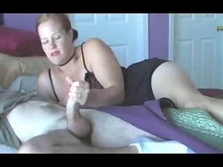 MILF Wake Up Handjob