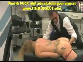 Fisting ass nice pierced pussy opened