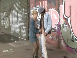 Mature Woman Fucked By  Homeless Guy