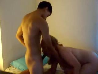 Latina MILf fucks all over apartment