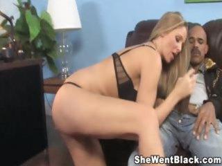 Big Tit MILF Julia Ann gets interracial sex from