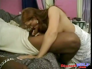 Sex Starved Redhead Stripper MILF