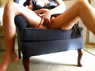 horny wife masturbates on cam