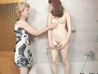 Her BF away and she fucks his family