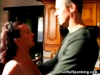 Spanked Mature Honey