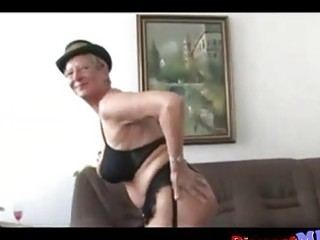 Filthy Euro Granny With Glasses Gets Fucked