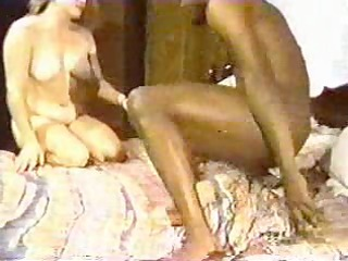 Blonde white wife with black lover - Homemade