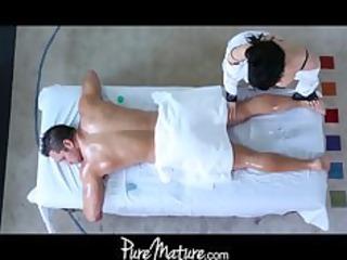 PureMature milf massage anal sex