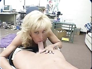 Hot Mature Michelle St. James Blowjob