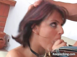 Hot redhead slut gets her ass fucked part1