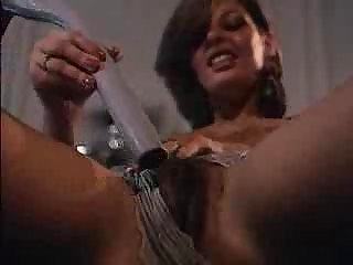 Hairy MILF Mama Masturbates Solo on The Couch