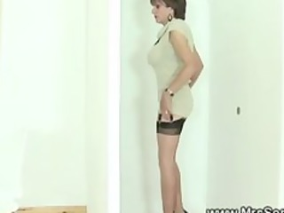 Cuckold watches wife suck gloryhole cock in