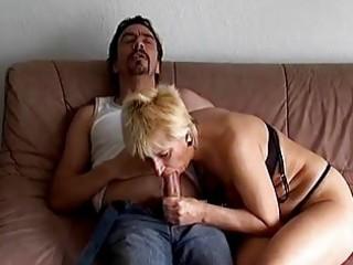 Horny German Amateur Granny Dril...