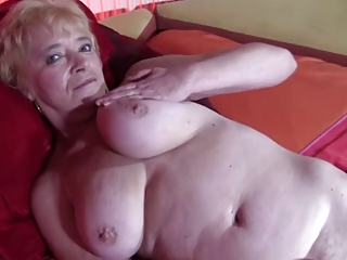 Granny in Stockings Strips and Spreads