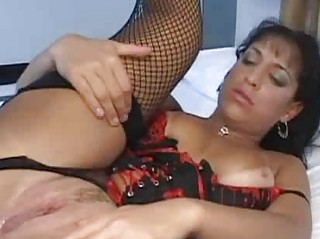 MILF Latina Mirella Sanders gets a dick in her ass