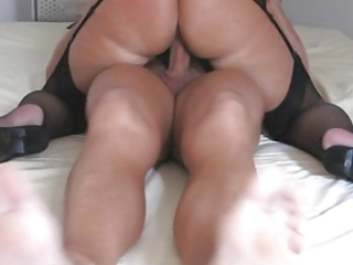 Horny Amateur Granny In Hot Action
