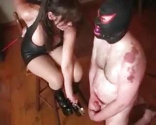 Extreme Milf Kinky Balls Bondage