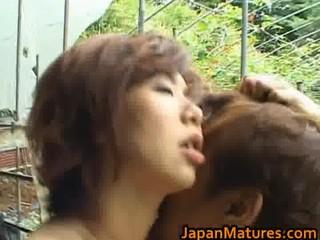 Chisato Shouda Asian mature chick gets part4