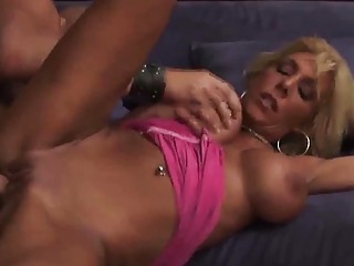 Busty MILF babe roughly fucked by horny studf