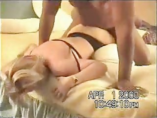 Blonde Slut Wife Cums Hard as She Gets Fucked by
