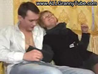 German Mature Mother fucked by a guy