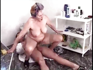 Hairy Granny Fucked by TROC