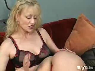 two mature lesbians lick pussy and use toys