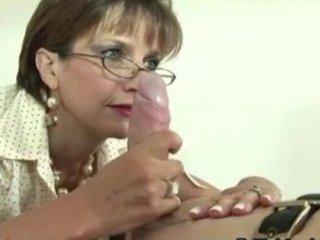 Mature femdom bondage fetish blowjob