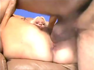 obese blond granny screwed by youthful lad