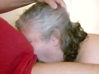Married Older Neighbour Gags on My BBC - Homemade