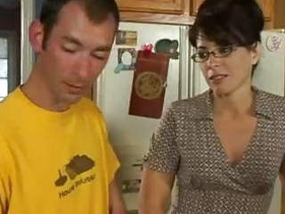 Kitchen Sex For Horny Milf