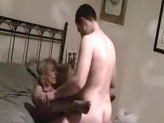 Older Mom Fucked on Secret Movie Scene by Younger