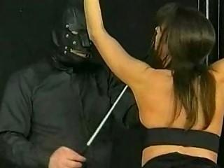 Bdsm session with hot mature slave part 1