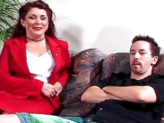 Hot Milf Gets Pounded By Sons D...
