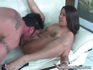 Very nice latina milf with hot ass rides part1