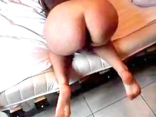 Husband banging his wife in her tight asshole