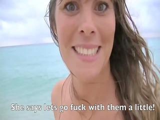 My Wife Heather Causes Nude Beach Circle Jerk
